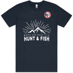 Man Was Meant to Hunt & Fish (F6)