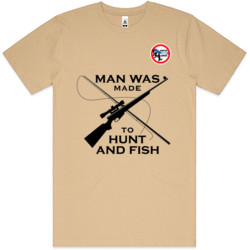 Man Wash Made To Fish & Hunt (F1)